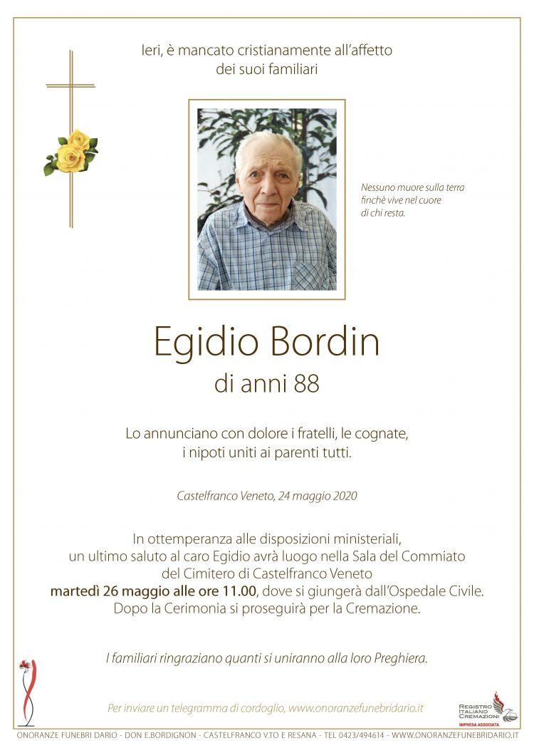 Egidio Bordin