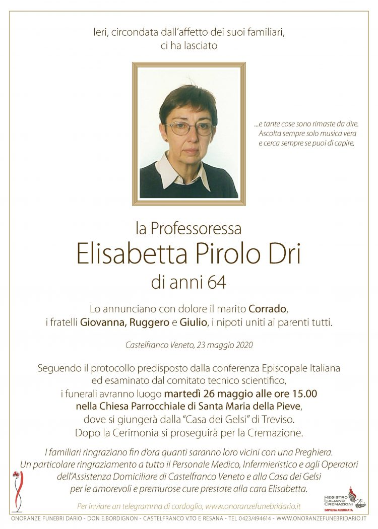 Elisabetta Pirolo Dri