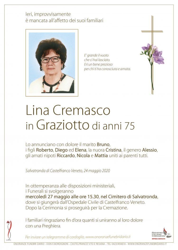 Lina Cremasco in Graziotto