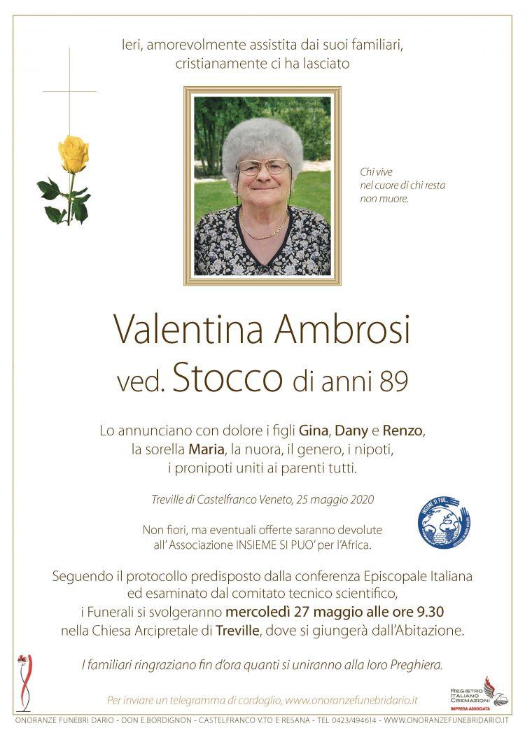 Valentina Ambrosi ved. Stocco