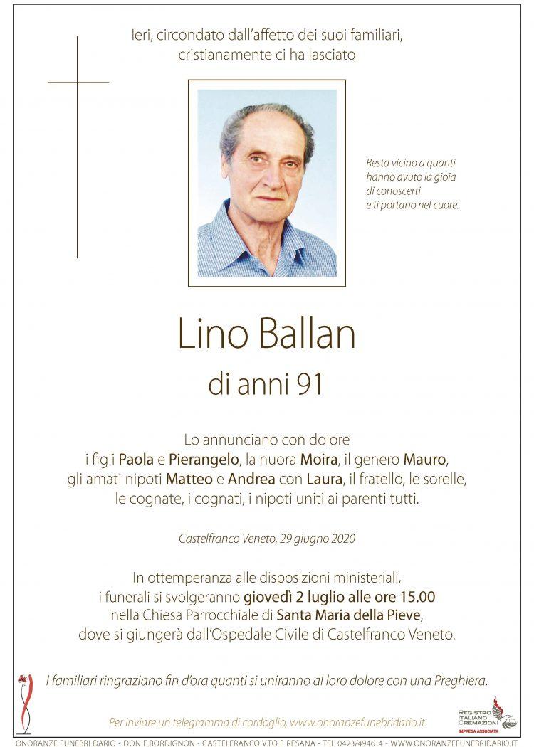 Lino Ballan