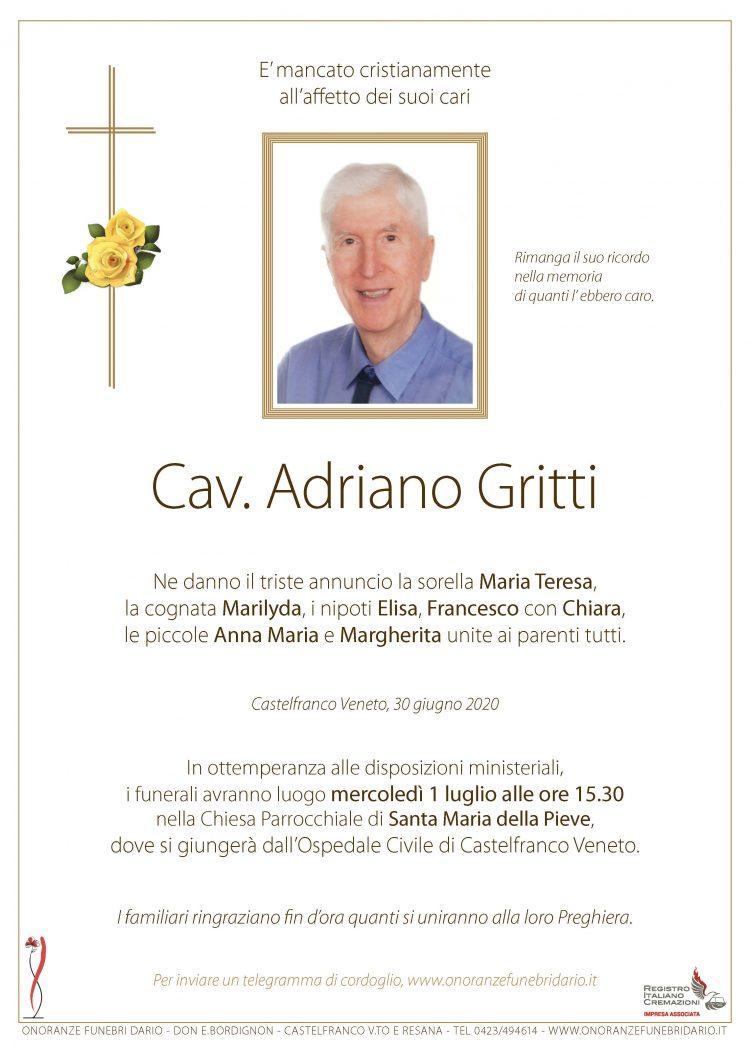 Cav. Adriano Gritti