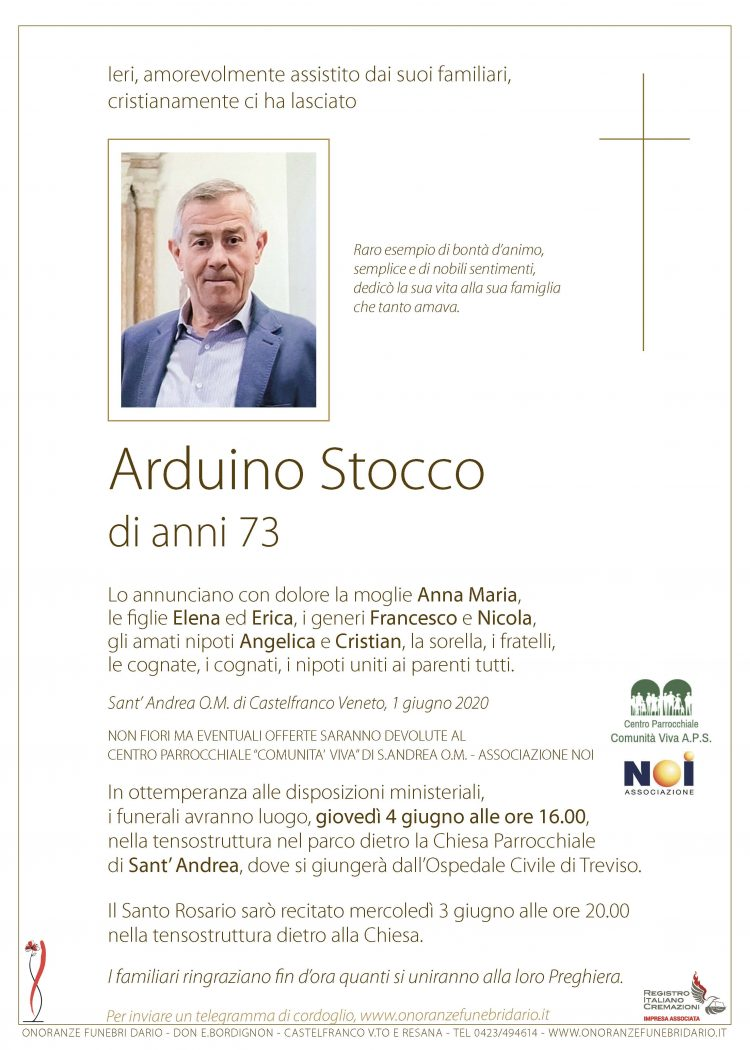 Arduino Stocco
