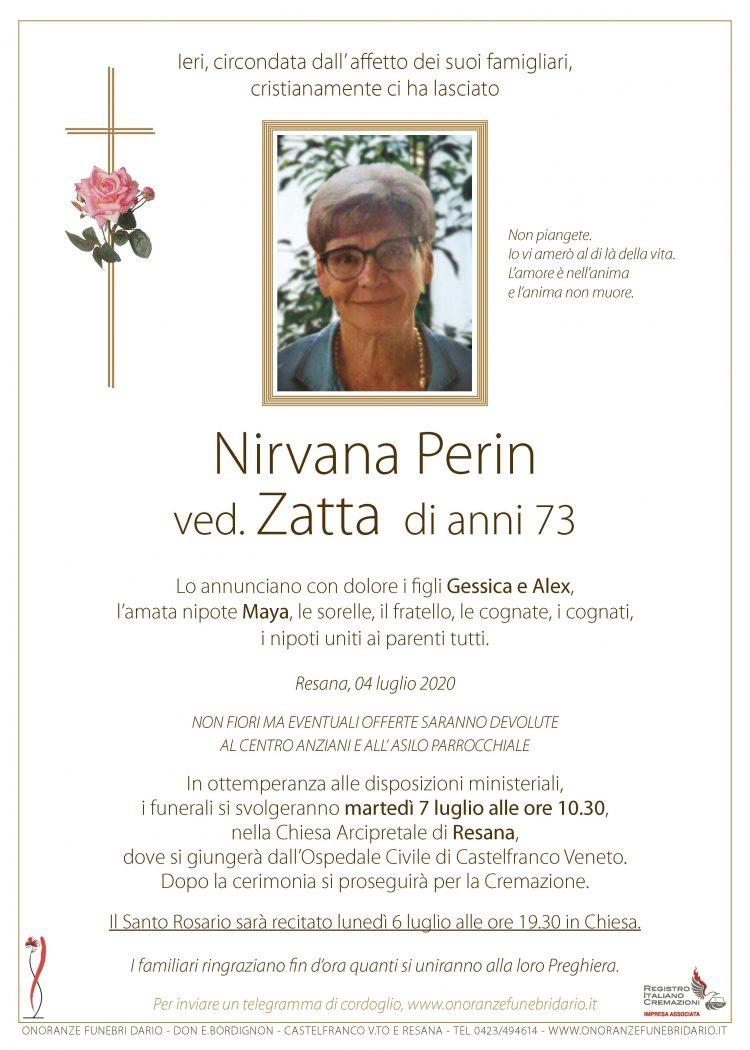 Nirvana Perin ved. Zatta
