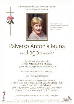 Palverso Antonia Bruna ved. Lago