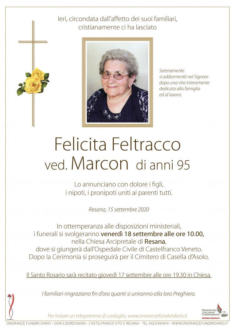 Felicita Feltracco ved. Marcon