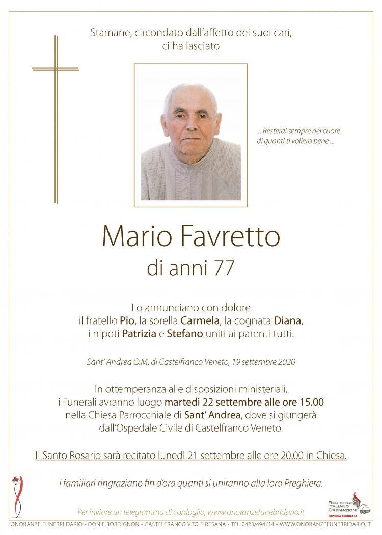 Mario Favretto