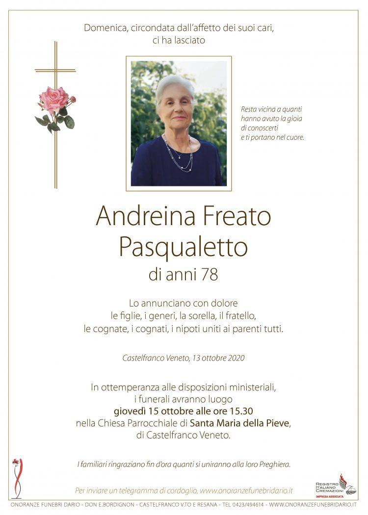 Andreina Freato Pasqualetto