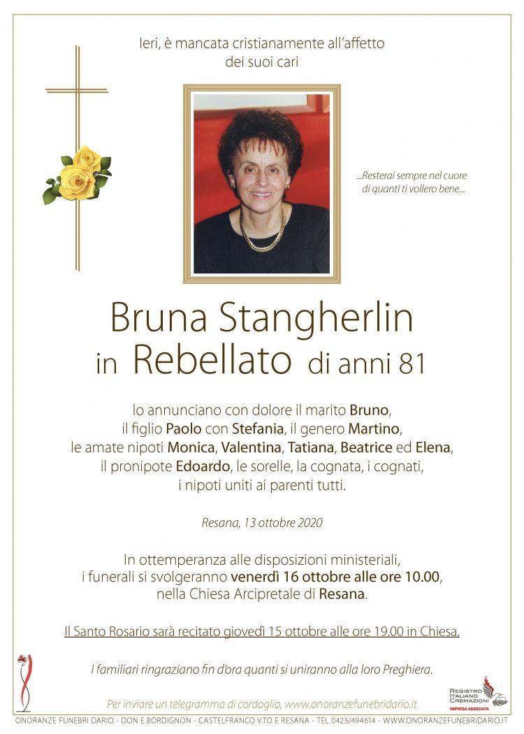 Bruna Stangherlin in Rebellato