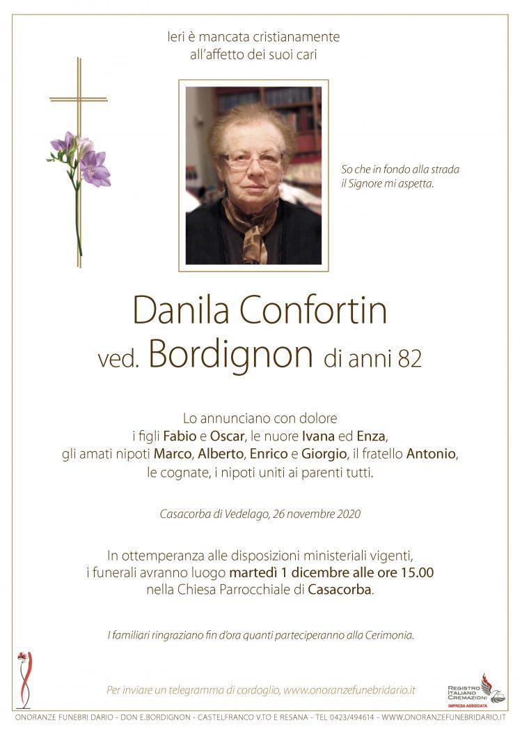 Danila Confortin ved. Bordignon