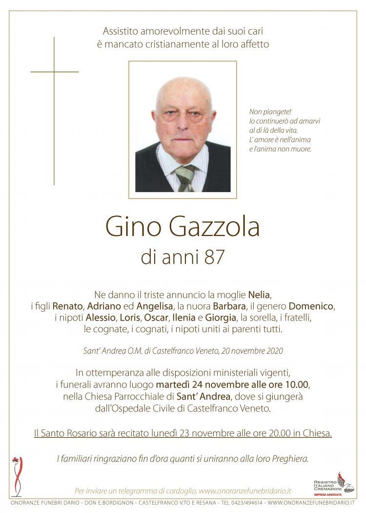 Gino Gazzola
