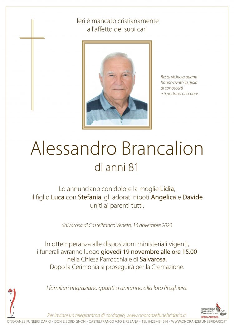 Alessandro Brancalion