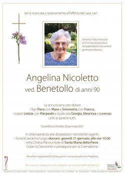 Angelina Nicoletto ved. Benetollo