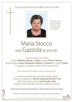 Maria Stocco ved. Gazzola