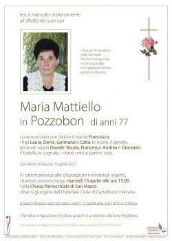 Maria Mattiello in Pozzobon