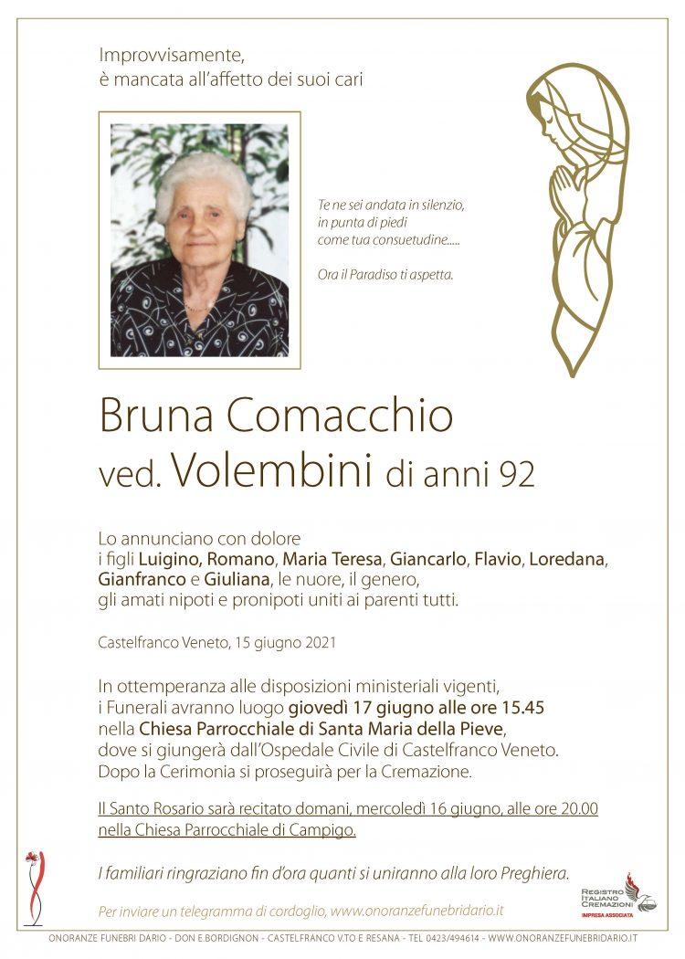 Bruna Comacchio ved. Volembini