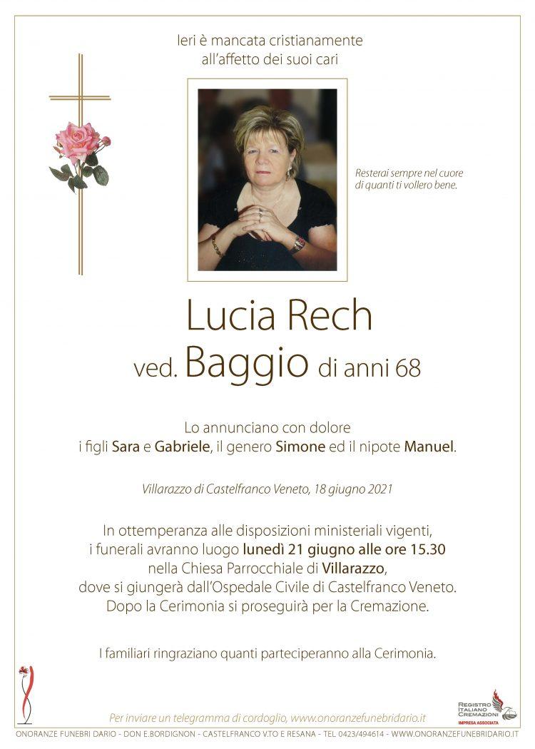Lucia Rech ved. Baggio