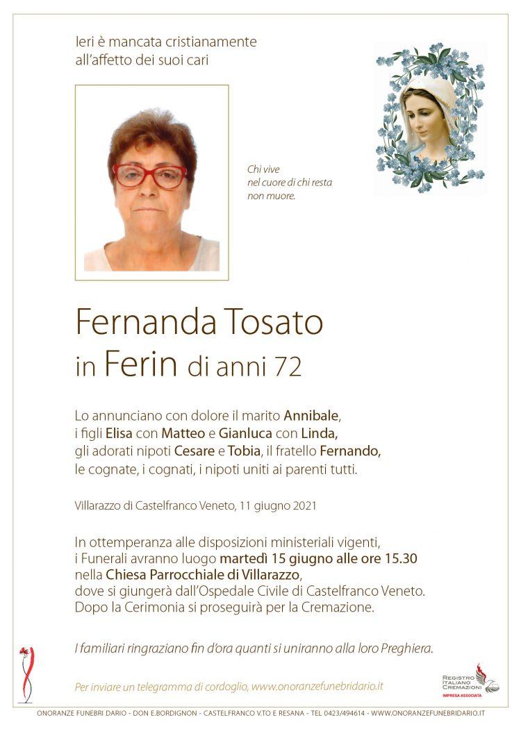 Fernanda Tosato in Ferin