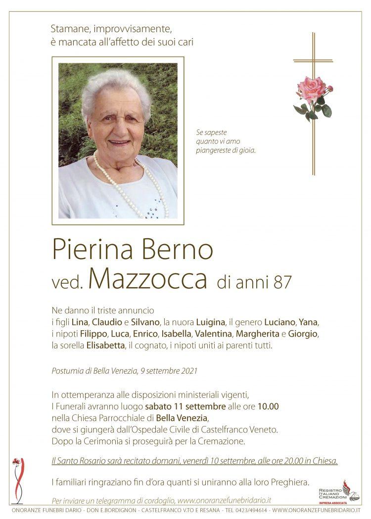 Pierina Berno ved. Mazzocca