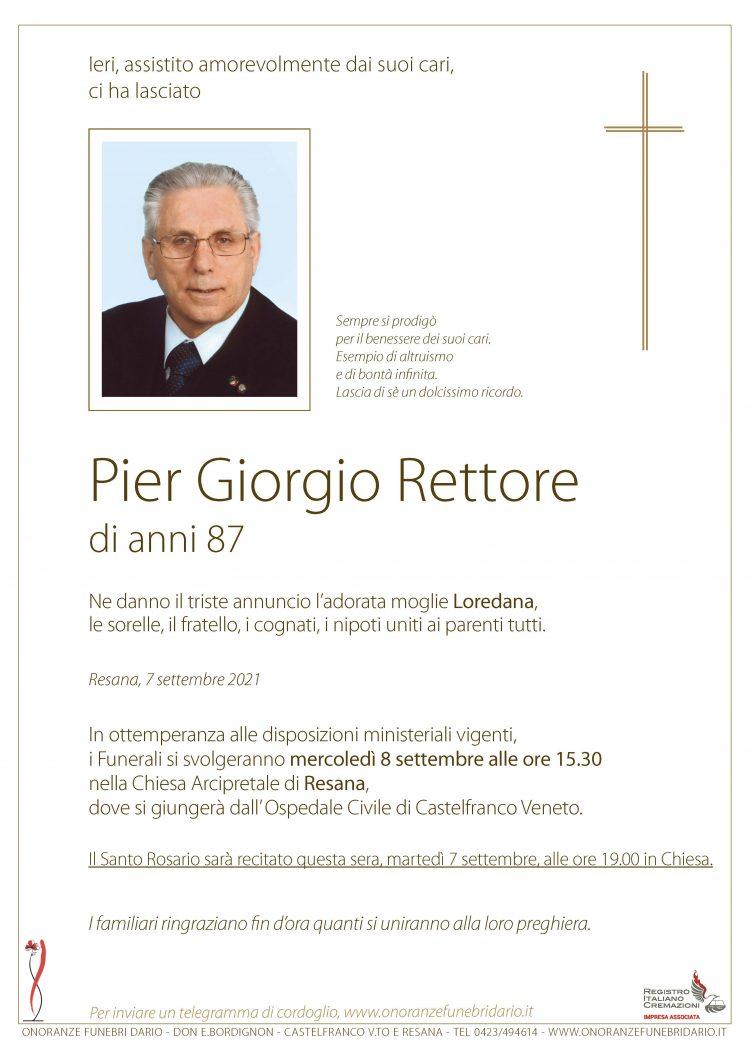 Pier Giorgio Rettore