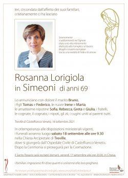 Rosanna Lorigiola in Simeoni