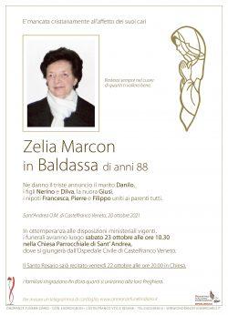 Zelia Marcon in Baldassa